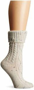 UGG Women's Sienna Short Rainboot Sock, Black, O/S, Cream, Size One Size rlXK