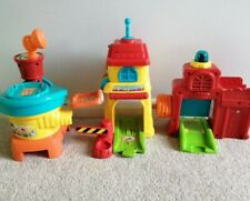 Vtech Toot-Toot Drivers Airport Fire Train Tunnel Buildings Parts Spares Bundle