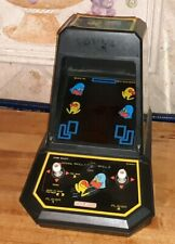 Pac Man Midway Vintage Mini Tabletop Video Arcade Game Coleco WORKS classic