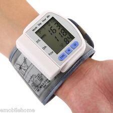 Portable Automatic Digital Storage MemoryHeart Rate Wrist Blood Pressure Monitor