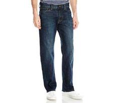 Lucky Brand Men's 221 Original Straight Leg Jean Kings cross NWT