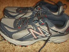 NEW BALANCE 411V2 Blue Gray Red Athletic Shoes Mens Size 13D