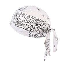 Men & Women Bandana Print Hat Outdoor Cycling Chef Chemotherapy Skull Cap