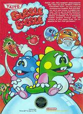 Bubble Bobble NINTENDO NES Video Game