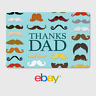 eBay Digital Gift Card - Thank You Dad -  Email Delivery