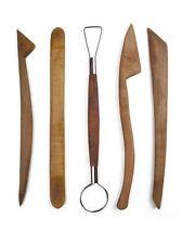 5 buis forme & ruban outils de coupe poterie argile sculpey fimo céramique POT11