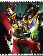 2003 Comic-Con International Program