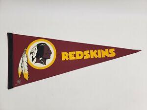 "Washington Redskins Felt Pennant 12"" x 30"" Wincraft NFL Football Fan"