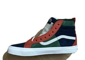 Vans Sk8-Hi 46 MTE DX Fairway Orange Gibraltar Sea Skate Shoes Men's Sz 11 NEW