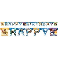 Skylanders Happy Birthday Party Supplies Decoration Banner 7.59 Ft.