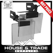 """Abbott & Ashby Eye Shields to Suit 8"""" Bench Grinder Pair Shatter Resistant ATES8"""