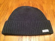 NWT POLO RALPH LAUREN MERINO WOOL POLO PATCH HAT NAVY CAP SKULLY BEANIE