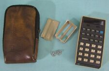 Vintage HP-21 Calculator w Soft Case & Battery Holder AS-IS