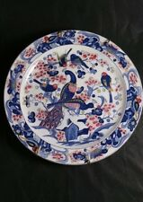 ANTIQUE 2 IMARI STYLE  PLATES CHARGERS