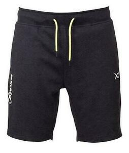 Matrix Minimal Black Marl Joggers Shorts / Coarse Fishing Clothing - ZIP POCKET