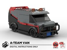 Lego MOC | A-Team Van | Custom Model | PDF Instructions (NO BRICKS)