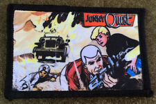 Jonny Quest Race Bannon Morale Patch Comic Cartoon Hand Printed in the USA