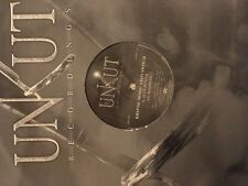 "Kryptic Minds & Leon Switch – Blue Power / Madman 12"" Drum and Bass Vinyl Unkut"