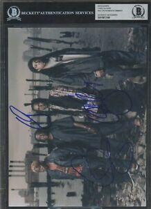 Corey Glover Will Calhoun Doug Wimbish Signed Photo AUTO Autograph BGS BAS #1
