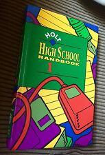 Holt High School Handbook : Vol. 1 : Illus. HC : Excellent Condition