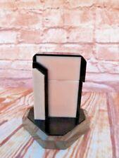 More details for rare vintage 1930s art deco bakelite table top cigarette lighter.