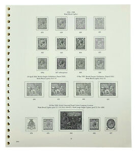 Stanley Gibbons GB printed pages with a Binder option - A Popular GB Album