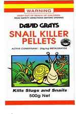 Snail Killer Pellets 500g David Grays Snail Slug Control