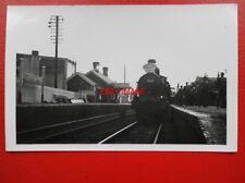 PHOTO  GWR LOCO NO 2538 AT ABERAVON TOWN RAILWAY STATION - GLOUCESTERSHIRE RAILW