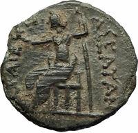 ASEA in Achaia ACHAIAN LEAGUE Very Rare 194BC Ancient Greek Coin ZEUS i76914