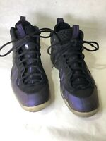 Nike Air Foamposite One Eggplant 644791-005 Size 6.5 Y Purple