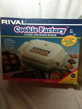 Rival Cookie Factory Cookie And Snack Maker