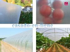 Bâche film de serre diffusant haut de gamme 200µ 9,20 m de large idéal tomates