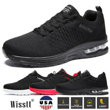 Mens Mesh Jogging Runner Athletic Gym Sports Cycling Tennis Air Sneakers Shoes