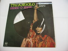 "RENATO ZERO - TRIANGOLO - 12"" PICTURE DISC VINYL - NEW NUMBERED COPY #1663"