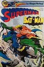 BRONZE AGE + EHAPA + DC + GERMAN + 8 + 1976 + SUPERMAN + BATMAN +