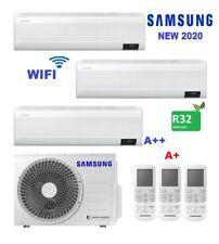 CONDIZIONATORE SAMSUNG WINDFREE AVANT  TRIAL SPLIT 7+9+12 BTU INVERTER R32 AJ052