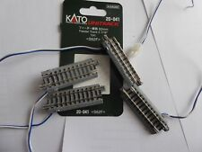 Kato N Unitrack 4 of 20-041 feeder track 3 S1240 Crossing, 2 S62 straights