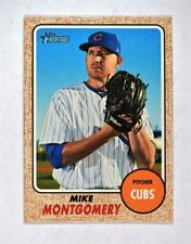 2017 Topps Heritage Base #509 Mike Montgomery