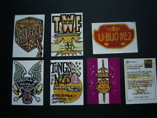 1992 TROLL FORCE SET OF 7 SPECIAL CARDS (E19)