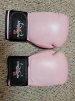 "CENTURY KICKBOXING MMA UFC BOXING 12 OZ GLOVES PINK ""LOVEKICKBOXING.COM"""