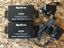 Wyrestorm 70mm Single Cat5e Extender w/ IR Receiver/Transmitter EX-1UTP-IR-70