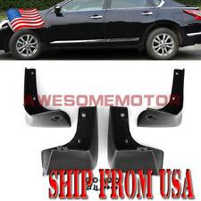 US 4Pcs ABS Mud Flap Splash Guard Fender Fit 2013 2014 2015 Nissan Altima Sedan