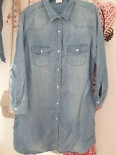 H&M Ladies Denim Dress 10