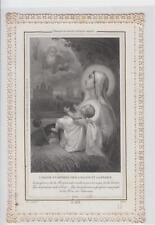Santino canivet Holy card L' Hostie Sainte offerte pour l'Eglise ...Letaille PL