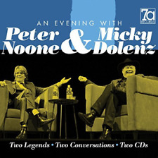 NOONE,PETER & DOLENZ,MICKY-EVENING WITH PETER NOONE & MICKY  (US IMPORT) CD NEW