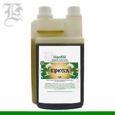 Öl Hanföl kaltgepresst für Pferde 1 Liter Stress Beruhigung Omega-Fettsäuren