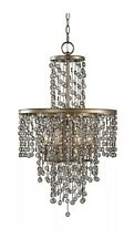 Valka 6 Light Crystal Chandelier Light Fixture by Uttermost #21288