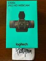 NEW Logitech C920S Pro HD Webcam Privacy Shutter 1080p Streaming Calling IN HAND