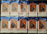 2019/20 Panini Hoops NBA Basketball Cards - 10 packets (50 cards)