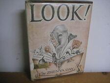 Look/ hardback/ vintage/Zhenya Gay/1967/ Viking Press/ animals